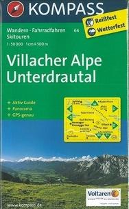 Kompass - Villacher Alpe Underdrautal - 1/50 000.