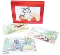 Konami Kanata - Chi - Une vie de chat Boîte de cartes post : Chi - Une vie de chat - Boîte de cartes postales.