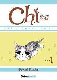 Téléchargez des livres sur ordinateur gratuitement Chi, une vie de chat Tome 1 par Konami Kanata