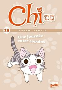 Konami Kanata - Chi, une vie de chat Tome 13 : Une journée entre copains.