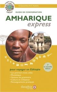 Kondjit Guetachew et Constantin Kaïtéris - Amharique express - Guide de conversation.