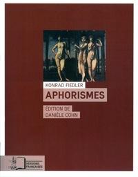 Konrad Fiedler - Aphorismes.