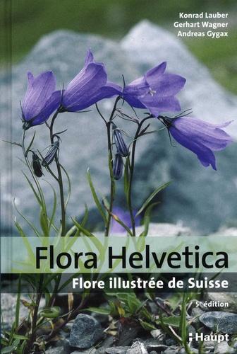 Flora Helvetica. Flore illustrée de Suisse 5e édition