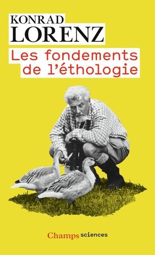 Konrad Lorenz - Les fondements de l'éthologie.