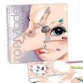 KONTIKI - Album de coloriage Top Model Mains