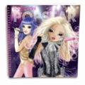 KONTIKI - Album de coloriage Top Model Popstar