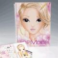 KONTIKI - Album de coloriage Top Model Visages