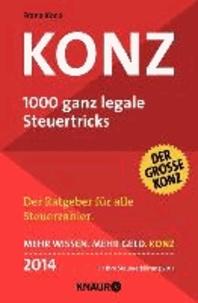 Konz - 1000 ganz legale Steuertricks.