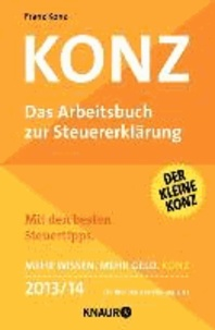 Konz - Das Arbeitsbuch zur Steuererklärung.