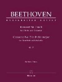 Konzert Nr. 2 in B für Klavier und Orchester, op. 19 - Partitur.
