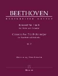 Konzert Nr. 2 in B für Klavier und Orchester, op. 19 - Klavierauszug.