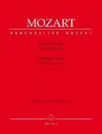 Konzertarien I für hohen Sopran - Klavierauszug.