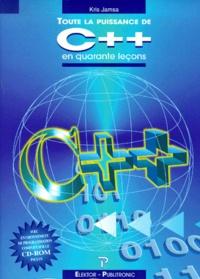 Kris Jamsa - Toute la puissance de C++ en quarante leçons. 1 Cédérom