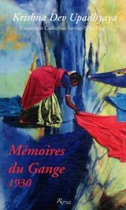 Krishna Dev upadhyaya - Mémoires du gange 1930.