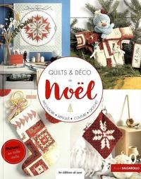 Kristel Salgarollo - Quilts & déco de Noël - Avec patrons en taille réelle détachables.