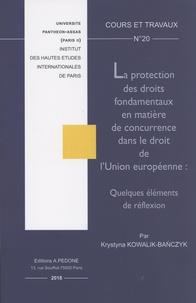 Coachingcorona.ch La protection des droits fondamentaux en matière de concurrence dans le droit de l'Union européenne : quelques éléments de réflexion Image