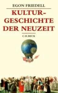 Kulturgeschichte der Neuzeit - Die Krisis der Europäischen Seele von der Schwarzen Pest bis zum Ersten Weltkrieg.