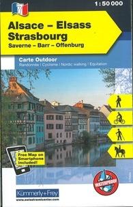 Alsace Strasbourg- 1/50 000 -  Kümmerly + Frey pdf epub