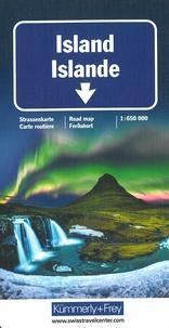 Islande/island avec îles Faroe- 1/650 000 -  Kümmerly + Frey pdf epub