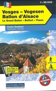 Kümmerly + Frey - Vosges Ballon d'Alsace - 1/35 000.