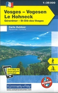 Vosges Le Hohneck- 1/35 000 -  Kümmerly + Frey pdf epub