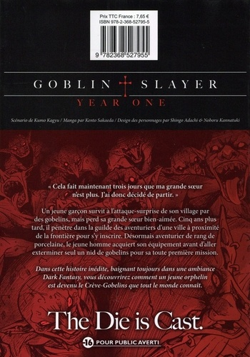 Goblin Slayer : Year One Tome 1