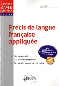 Feriasdhiver.fr Précis de langue française appliquée - Licence, CAPES, AGREG Image