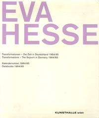 Kunsthalle - Eva Hesse - Edition bilingue anglais-allemand.