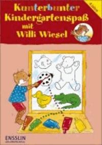 Kunterbunter Kindergartenspaß mit Willi Wiesel - Suchen, Zuordnen und Erkennen - Sonderband.