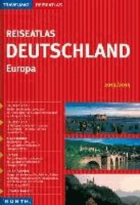 KUNTH Reiseatlas Deutschland / Europa 2014/2015.