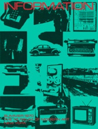 Kynaston McShine - Information - 50th anniversary edition.