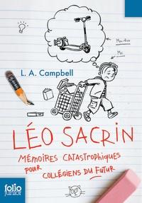 Deedr.fr Léo Sacrin - Mémoires catastrophiques pour collégiens du futur Image