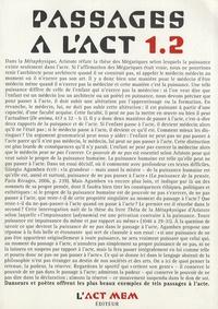 Jacques Henric - Passages à l'Act N° 1.2 : Jacques Henric.