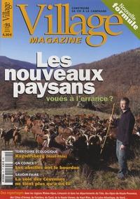 Philippe Guibert - Village Magazine N° 91, Mars-Avril 20 : Les nouveaux paysans voués à l'errance ?.
