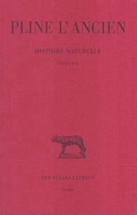 L'ancien Pline et Jacques André - Histoire naturelle : livre 19 nature du lin et faits merveilleux.