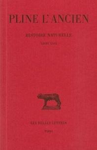 L'ancien Pline et Alfred Ernout - Histoire naturelle : livre 26 remèdes par espèces.