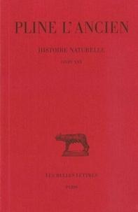 L'ancien Pline et Alfred Ernout - Histoire naturelle : livre 30 remèdes tirés des animaux.
