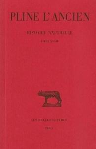 L'ancien Pline et Eugène de Saint-Denis - Histoire naturelle : livre 32.