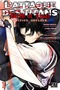 Hikaru Suruga - L'Attaque des Titans - Birth of Livaï Edition Couleur T01.