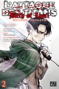 Hikaru Suruga - L'Attaque des Titans - Birth of Livaï Edition Couleur T02.