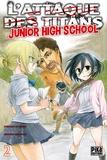 Saki Nakagawa - L'Attaque des Titans - Junior High School T02.