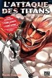 Hajime Isayama - L'attaque des titans Pack tomes 1 et 2 : L'Attaque des Titans Pack  Découverte T01 et T02.