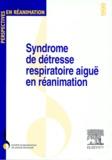 L Blanch et  SRLF - SYNDROME DE DETRESSE RESPIRATOIRE AIGUE EN REANIMATION. - Barcelone, 13-14 mai 1999.