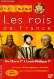 L Bouton et  Collectif - Les rois de France - De Clovis Ier à Louis-Philippe Ier.