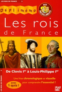 Deedr.fr Les rois de France - De Clovis Ier à Louis-Philippe Ier Image