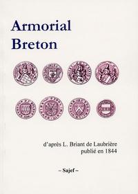 L Briant de Laubrière - Armorial Breton.
