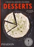 L'école de cuisine italienne - Desserts.