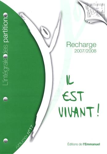 """L'Emmanuel - Recharge de partitions pour classeur """"L'intégrale"""" - Tome 17."""