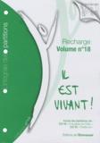 """L'Emmanuel - Recharge de partitions pour classeur """"L'intégrale"""" - Tome 18."""