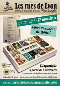 Yan Le Pon et Ugo Panico - Les rues de Lyon  : Coffret vide pour 12 numéros.